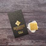 "edible gold leaf sheet 1.5"" (3.8x3.8 cm) brand amagrow"